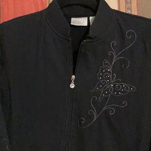 Women's Light-Weight Black Jacket